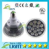 Wholesale Par 38 12w Led - DHL FREE SHIPPING Dimmable Led bulb par38 par30 par20 85-240V 9W 10W 14W 18W 24W 30W E27 par 20 30 38 LED Lighting Spot Lamp light downlight