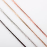 Wholesale Wedding Floating - 10pcs lot Free Shipping 4 colors Fashion Necklace Women 65mm Snake Chain Necklace Fit Glass Living Floating Locket Chain