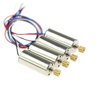 Wholesale Gear Motor Wheel - 4x Standard Motor for JJRC H8C DFD F183 F182 F181 RC Quadrocopter Drone Spare Parts Accessories Motor Engine with Wheel Gear order<$18no tra