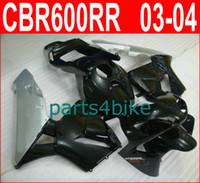 Wholesale Honda Parts For Sale - Hot sale black silver body parts for Honda fairings CBR600RR 2003 2006 Parts4bike fairing kit CBR 600RR 03 04 CBR 600 RR VPSI