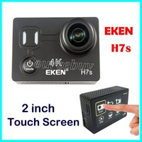 EKEN H7s Mini Video DV Ultra HD 4K Wifi impermeabile 30M 170D Obiettivo Sport fotocamera HDMI 2 pollici Touch Screen 14MP Macchine fotografiche di azione