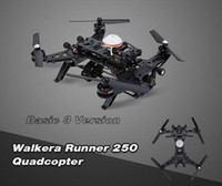 Wholesale Osd Control - Cheap Original Walkera Runner 250 Basic 3 Version RTF RC Quadcopter drones with 800TVL HD Camera OSD DEVO 7 Transmitter 1pcs DHL