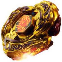 brinquedos de beyblade venda por atacado-Chegam novas !! Brinquedos Presentes Beyblades Destructor L-Drago (Destruir) Ouro Armored Metal Fúria 4D Beyblade Brinquedos de Natal para Crianças