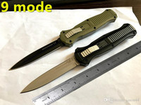 Wholesale First Fold - benchmade infidel 9 mode Classical benchmade knives 3300 162 Antiskid handle Black box First-class automatic knife otf knife