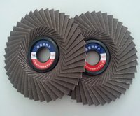 Wholesale Flap Grinding Wheel - Korean Grinding Wheel 100x16mm Quick Change Sanding Flap Disc Grinding Wheel For Grit Angle Grinder Grain Size 80 60#