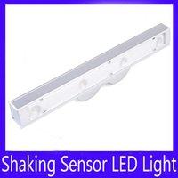 Wholesale Shake Sensor Led - shaking sensor LED light MOQ=1 free shipping