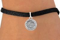 Wholesale Bird Belt - 30pcs lot Fashion Bird Nest Animal Circle Charms Bracelets Leather Rope Black Cord Bangles DIY Jewelry Belt Charm