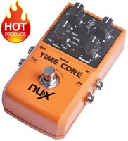 Wholesale Effect Delay - NUX Stomp Boxes Effect Pedal ,Time Core Up to 7 Delay Models Including Analog, Tape, Reverse etc True Bypass Musical Instrument