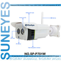 Wholesale Iphone Weatherproof - SunEyes SP-P701W 720P Wireless IP Camera ONVIF Outside Weatherproof with Micro SD Slot Free P2P for Android and IPhone APP