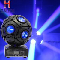 Commercio all'ingrosso- 9x10w RGBW 4in1 LED Beam Light DMX512 luce commovente testa mobile DJ / Bar / Party / Show / Stage Light