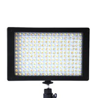 Wholesale Clearance Sale LED Video Camcorder Light Dimmable Lamp Remote for DSLR Canon Nikon Pentax Olympus order lt no track