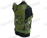Wholesale Tactical Vest Woodland - Fall-2015 new tactical Vest Airsoft Mesh Holster Vest - Woodland free shipping