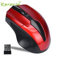 fabrika fiyatlı dizüstü bilgisayarlar toptan satış-Toptan-CARPRIE 2.4 GHz Fareler Ergonomik Optik Fare Akülü USB Alıcı PC Bilgisayar Kablosuz Laptop için Jan17 Fabrika fiyat