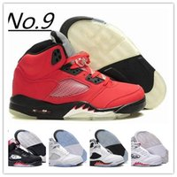 2017 Retro 5 OG Black Metallic Mens Basketball Shoes Atacado Alta qualidade couro genuíno Air Retro Sneakers Eur 41-47 US 8-13