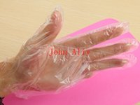 Wholesale House Appliances - Hot selling Eco-friendly Disposable PE Plastic Long Gloves For House Cleaning Restaurant BBQ Multifuction Transparent Gloves