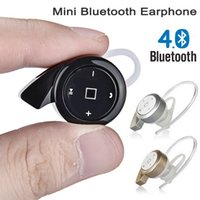 Wholesale Chinese Snails - Cool Gift Mini Snail Bluetooth Headphone A8 Wireless Stereo Earphone with Microphone Small Headset BT CRS 4.0 Car Earphones