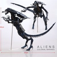 "Wholesale Aliens Figure Neca - Wholesale-Free Shipping NECA Big 15"" Aliens Alien Queen Deluxe Boxed PVC Action Figure Limited Edition Collection Model Toy Gift"