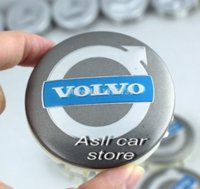Wholesale Volvo Hub Cap - 4pcs 64mm Volvo V40 V70 S40 S60 S80L XC60 XC70 XC90 car emblem Wheel Center Cover Hub Cap M44061