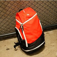 Wholesale Korean Version Canvas Backpack - Selling tide brand LIKE yeezus palace supp cham sports package Korean version of the basketball shoulder bag solid color travel bag