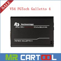 Wholesale Galletto Tricore - 2015 Best V54 FGTech Galletto 4 Master BDM-Tricore-OBD Function FG Tech ECU Programmer with Multi-langauge Free Shipping