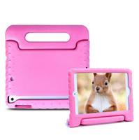 Wholesale 9.7 tablets for sale online – Hot Sale Cartoon EVA Foam innocuous material Children Shockproof Protective Case Cover for Tablet Portable case