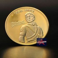 oz music - Michael Jackson USA Music Superstar the KING of Pop American coin Gold Plated Coins Souvenir coin Commemorative Coin OZ