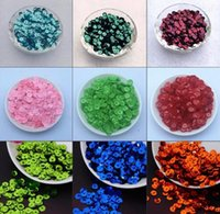 Wholesale Loose Cup Sequins - 2500pcs 30g 6mm silver-based colors PVC round cup loose sequins Paillettes sewing wedding Craft ,Women Garment Diy Accessories 11-20