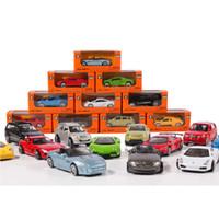 Wholesale Diecast Toy 64 - 1:64 Model For Super Alloy Car Model Mini Coupe Car Toys Diecast Vehicle model Mini Car Model Showing Toy 6pcs Random Deliver