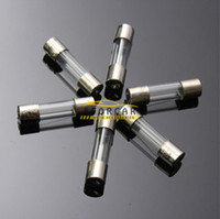 Wholesale Amps Electrical - 100pcs 5x20mm Electrical Assorted Fuse Amp Fast-Blow Glass Fuse Mix Set 0.2A-15A(1set=100pcs)