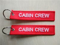 Cabin Crew Chaveiro Aviation Motorcycle Pilot Crew Tag Bagagem Key Fob Ring 13 x 2.8cm 100pcs lot