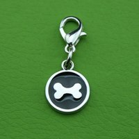 Wholesale Photo Epoxy - Singles DayZinc alloy Keychain   epoxy Round Custom Pet ID tags