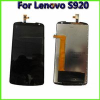 Vorlage für Lenovo S920 Handy-LCD-Touchscreen Digitizer Ersatz Assembly Billig Preis Handy Parts Touch Panels