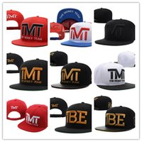 Wholesale Full Money - Good Quality Newest Fashion Wholesale-Full black the team money Snapback caps hiphop adjustable hat men & women classic baseball Hats Cheap