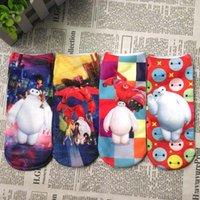 Wholesale Big Boys Socks - 2016 Big Hero Baby Socks Kids Sock Ankle Socks Baby Clothes Childrens Boys Girls Socks For Kids Children Socks C7814