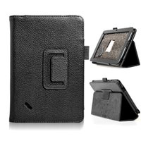 Wholesale Acer Iconia B1 A71 - HOT SALE Flip Litchi Grain Line PU Leather Stand Back Cover Case For Acer Iconia B1-A71