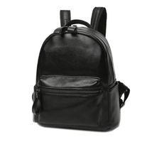 Wholesale Korea Style Fashion Girls Backpack - Hot Korea Homemade PU leather Female backpack Fashion School Bag Girls Rucksack Small Retro Daypack