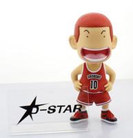 "Wholesale Slam Dunk Shohoku - Free Shipping CHAOER 8"" Slam Dunk SHOHOKU NO.10 Sakuragi Hanamichi 19cm Boxed PVC Action Figure Collection Model Toy Gift"