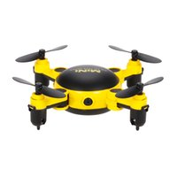 Cámara De Vídeo Brazos Baratos-JUGUETES KY901 2.4G Wifi FPV 0.3MP Cámara Drone Plegable Mini Drone Arm Altitude Hold RC Quadcopter Quad Amarillo