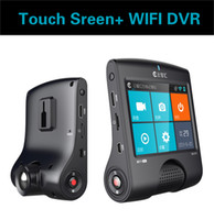 "Wholesale Wifi Camera Sd Recorder - Ambarella A7LA55 wifi Car DVR Camera Recorder 3.5"" Touch Screen 2K 2304*1296P 30FPS with GPS Tracker LDWS HDR WDR Night Vision"