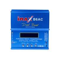 Wholesale Digital Balanced Charger - 80W Digital iMax B6AC Lipro Battery Original Balance Charger for RC Model Nimh Battery Balancing Charger Free shipping