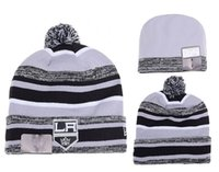 NUEVO HOT Sport KNIT LOS ANGELES KINGS Baseball Club Gorros Equipo Sombrero Gorras de invierno Popular Gorro Al Por Mayor Fix Regalo Barato VENTA