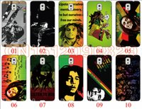 Wholesale Case 4s Bob - Bob Marley For Samsung Galaxy Note 3 4 5 S6 Edge S5 S4 S3 For iPhone 6 6 Plus 5 5S 5C 4S iPod Touch 5 For HTC One M7 M8 M9 phone cases