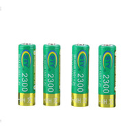 Wholesale Digital Camera Batteries Rechargeable Aa - Quality Product 4Pcs AA BTY Battery 2300mAh 14500 NI-MH Rechargeable Batteries 14500Batteria 1.2V For Digital Cameras Cell