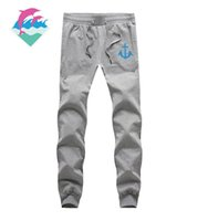Wholesale Fleece Jogging Pants - Fashion Brand Mens Sports Joggers Harem Pants Plus Size M-3XL Jogging 2016 Casual Men Boys Jogger Pant Pink Dolphin pants