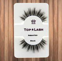 Wholesale Women Hair Extensions - 10 Pair Women Black Luxurious Real Mink Natural Thick Eye Lashes Soft Long Handmade False Eyelashes Makeup Extension Beauty Tools