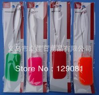 Wholesale Silica Gel Scraper - Wholesale- Hot-selling of baking utensils multicolour mini silica gel butter scraper - Small