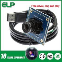 Wholesale Driver Usb Web Camera - 8mm lens 720p hd digital pc cctv free driver usb web camera module ELP-USB100W03M-L80