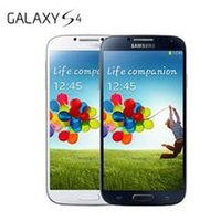 Wholesale S4 Black Quad Core - Samsung Galaxy S4 16GB 5.0 Inch 13.0MP Camera Cell Phone GSM CDMA WCDMA Andriod Smartphone