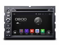 """Wholesale Dvd For Ford Fusion - 4-Core 1024*600 HD 7"""" Android 4.4 Car DVD Player for Ford Fusion Explorer F150 Edge Expedition With GPS 3G WIFI BT IPOD TV Radio RDS USB AUX"""