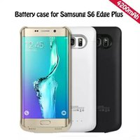 Wholesale External Battery For Galaxy S4 - Power bank case external battery case for samsung Galaxy S6 edge plus note 5 S5 S4 note 4 iphone 6 6 plus P144